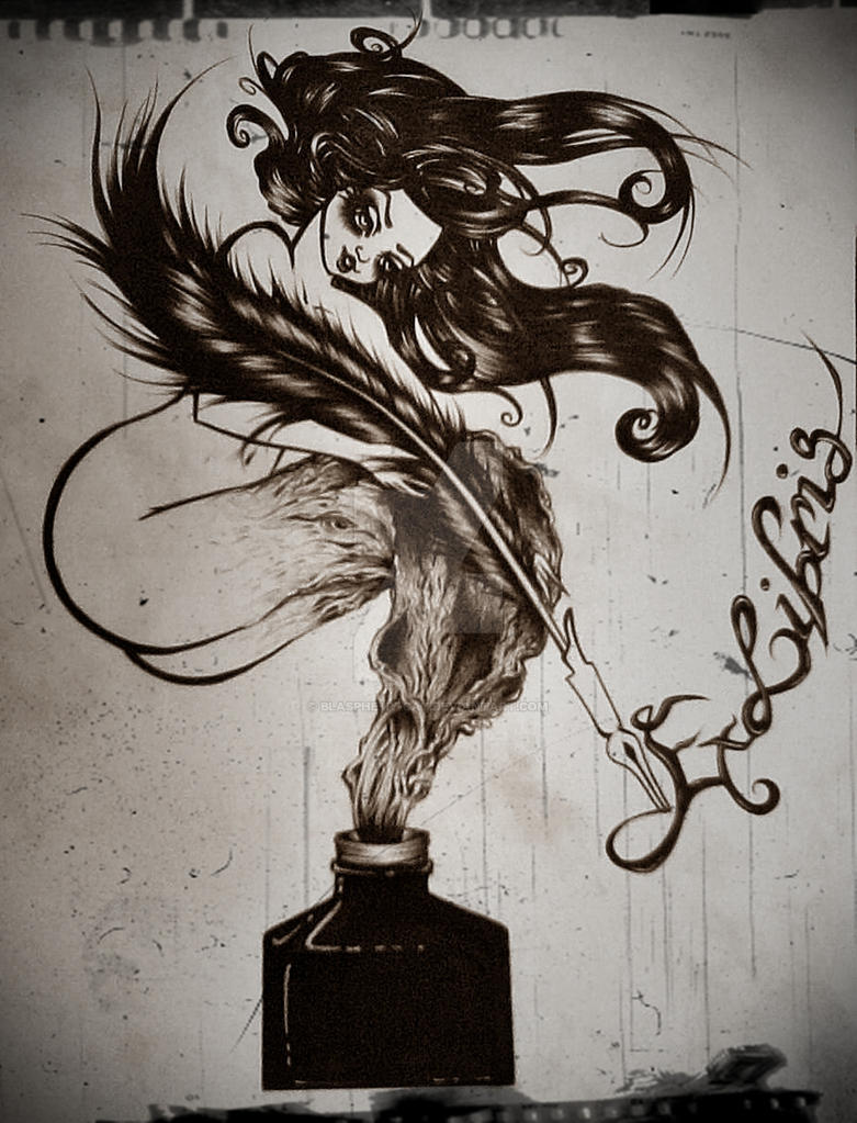 Muse Ink by Blasphemy-Cat