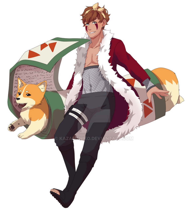 Soiboku Kazame By Kazameniko On Deviantart: New Year, Same Doggo Boy By KazameNiko On DeviantArt