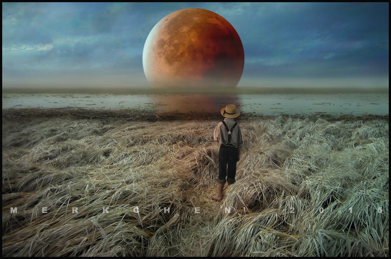 Red Moon by merkchen