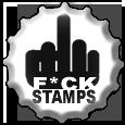 F+CK STAMPS bottlecap