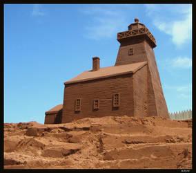 Wood Island Lighthouse by sculptin