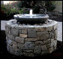 Stone Fountain by sculptin