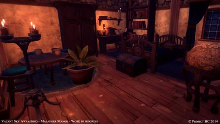Maladorr Manor: Dakura's Room