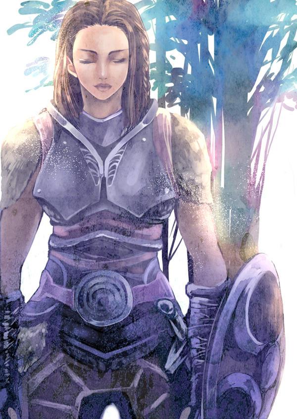 Lydia/skyrim by RiinomS