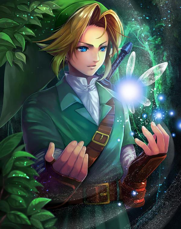 Link and Navi/The Legend of Zelda