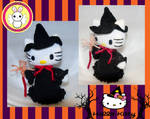 Hello Kitty Witch Amigurumi