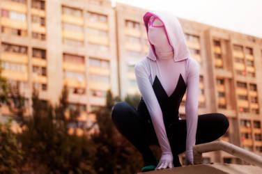 Spider Gwen Cosplay by Killian-Hollow