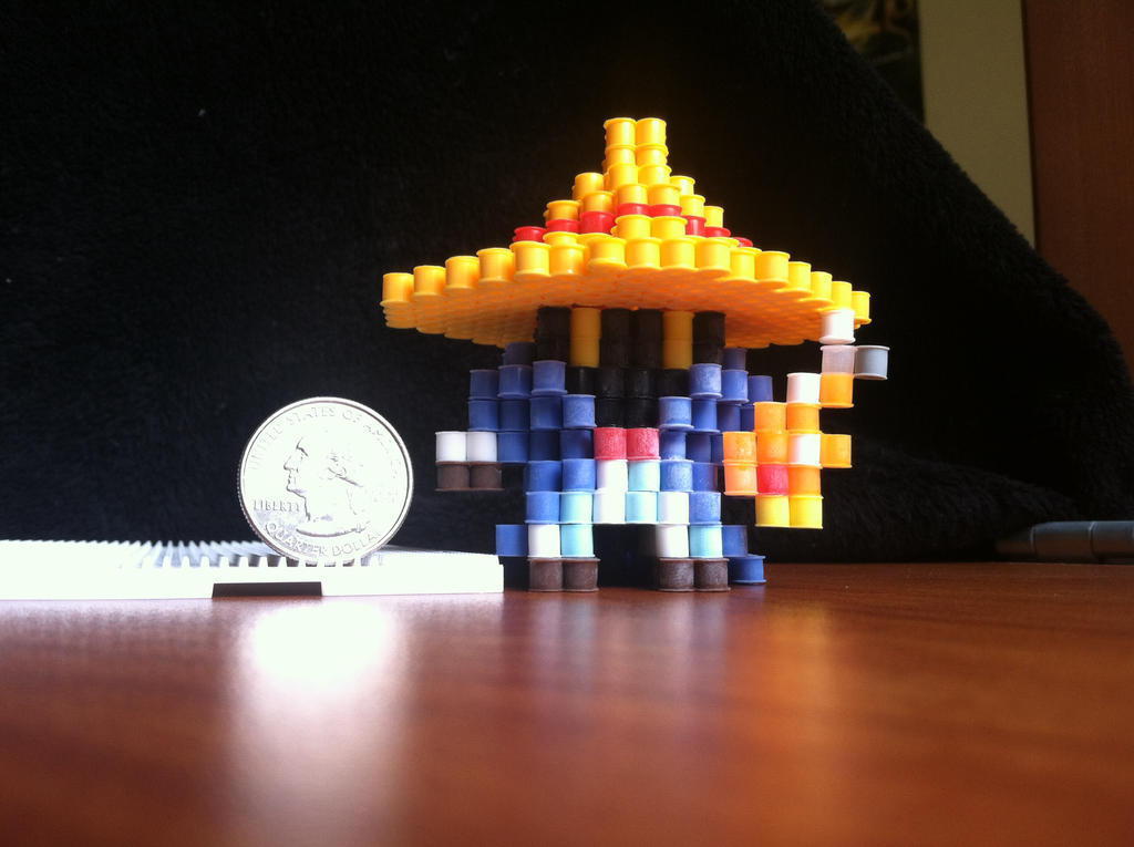Black Mage by VoxelPerlers on DeviantArt