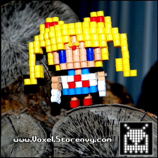 Sailor Moon by VoxelPerlers