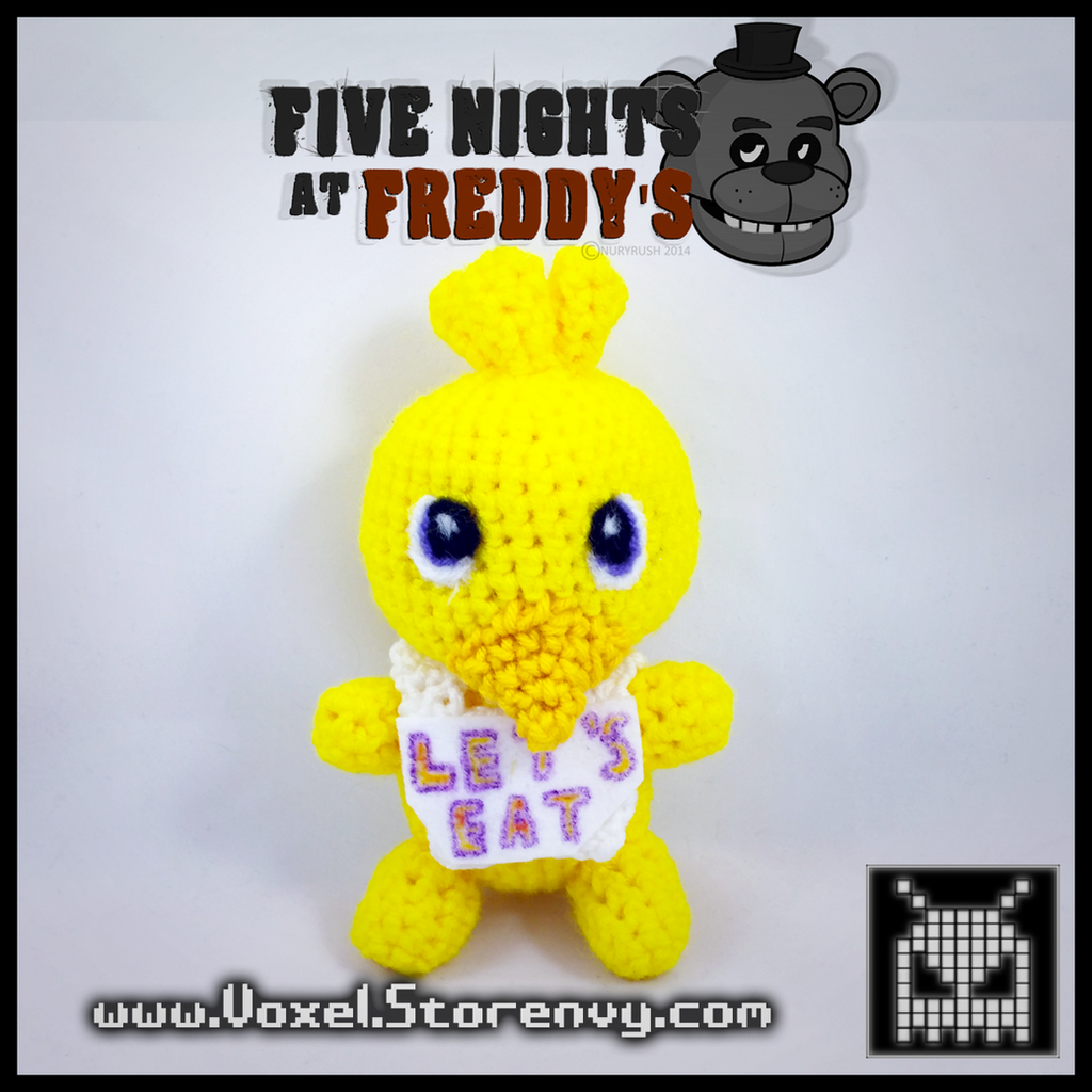 Chica five nights at freddys by voxelperlers on deviantart