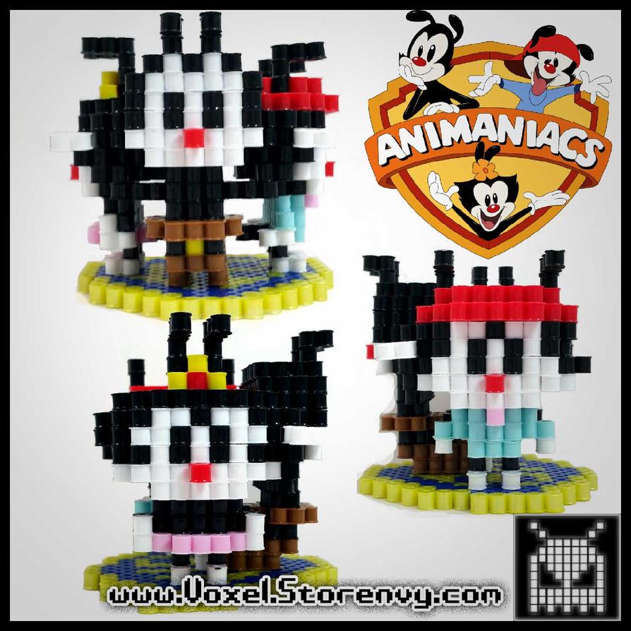 Animaniacs by VoxelPerlers