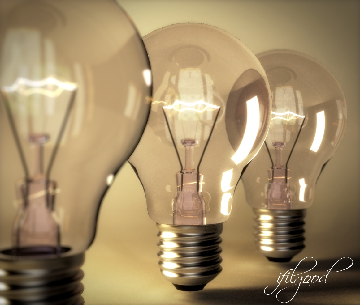 Light Bulb By Ifilgood