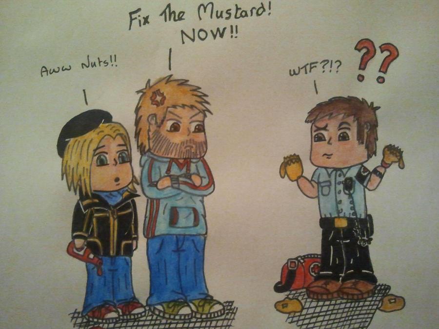 FIX THE MUSTARD!!! by toasterroaster