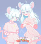 Pinky and Brain by tokyoghoost