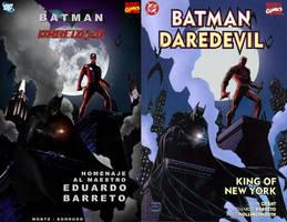 BATMAN DAREDEVIL DE E BARRETO by Egohugo