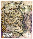 sva. Map of Sleepy Hollow