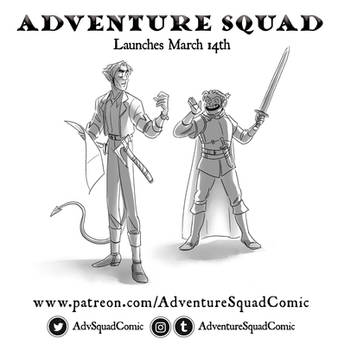 Adventure Squad, Coming Soon! by mernolan