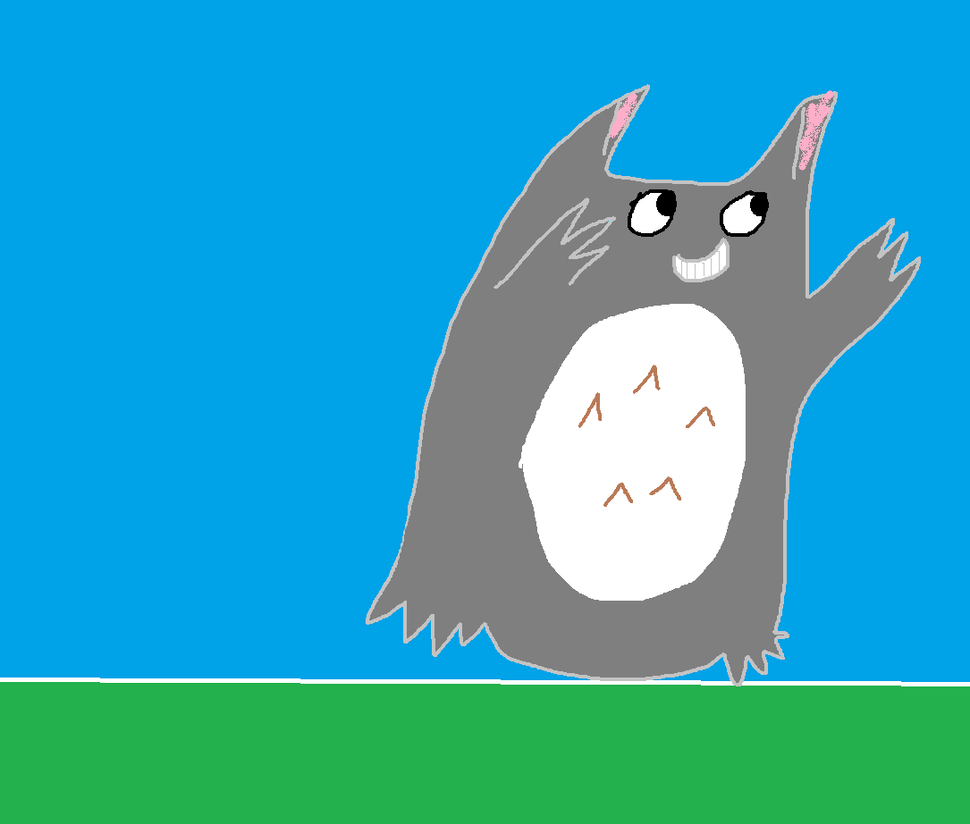 Its A Totoro by daredevinho