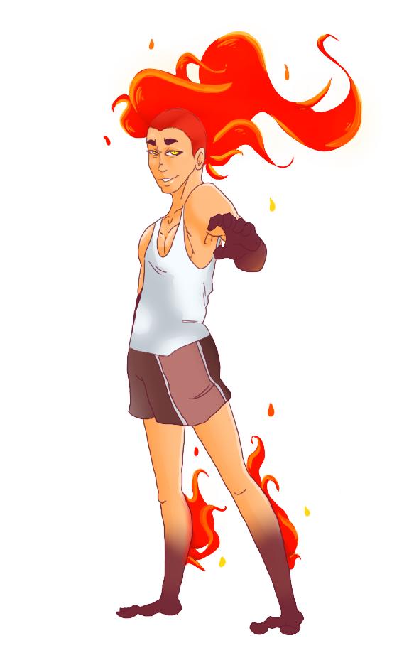 Joey Spitsfire full body by KagamiShinami