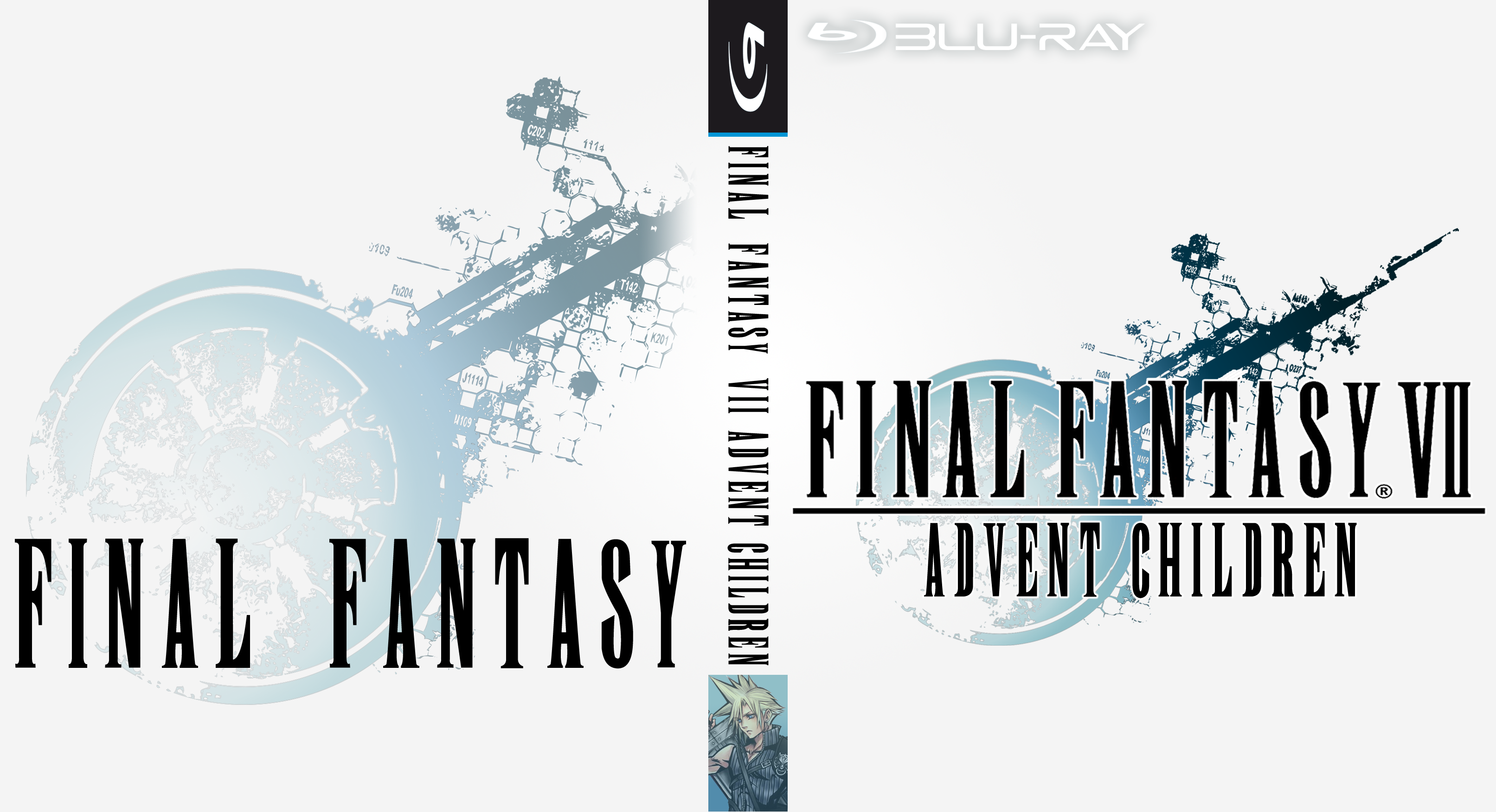 Final Fantasy Vii Advent Children Custom Cover By Cx7001 On Deviantart