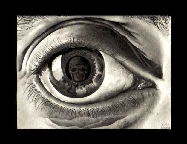 'Eye' - 1946, M.C. Escher by ipratropium