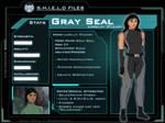 Marvel OC: Gray Seal S.H.I.E.L.D. File
