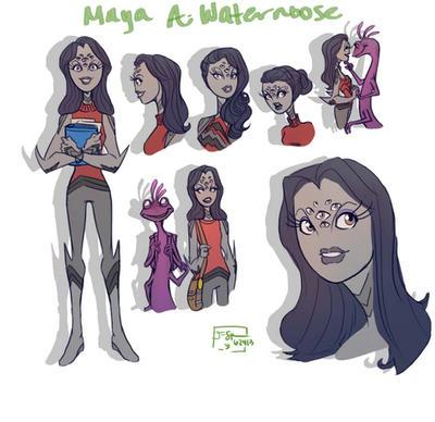 Monsters University OC by J-Spence on DeviantArt Borderlands Character Backstory