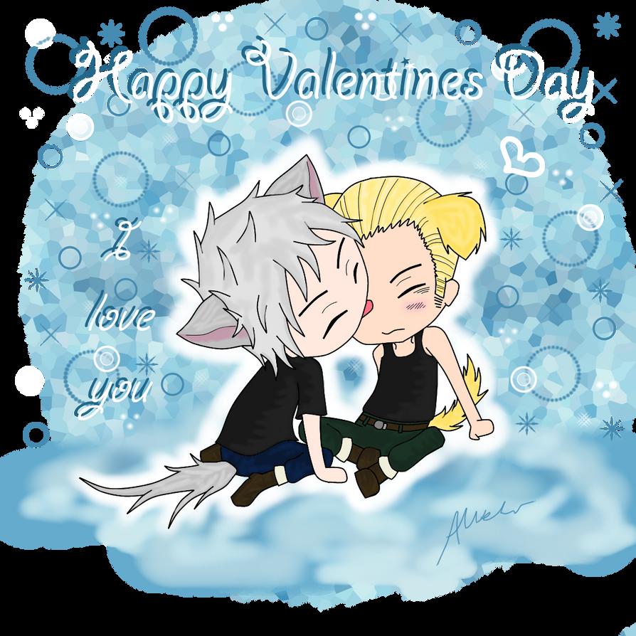Valentines Day - Gilbo X Lutz by anineko