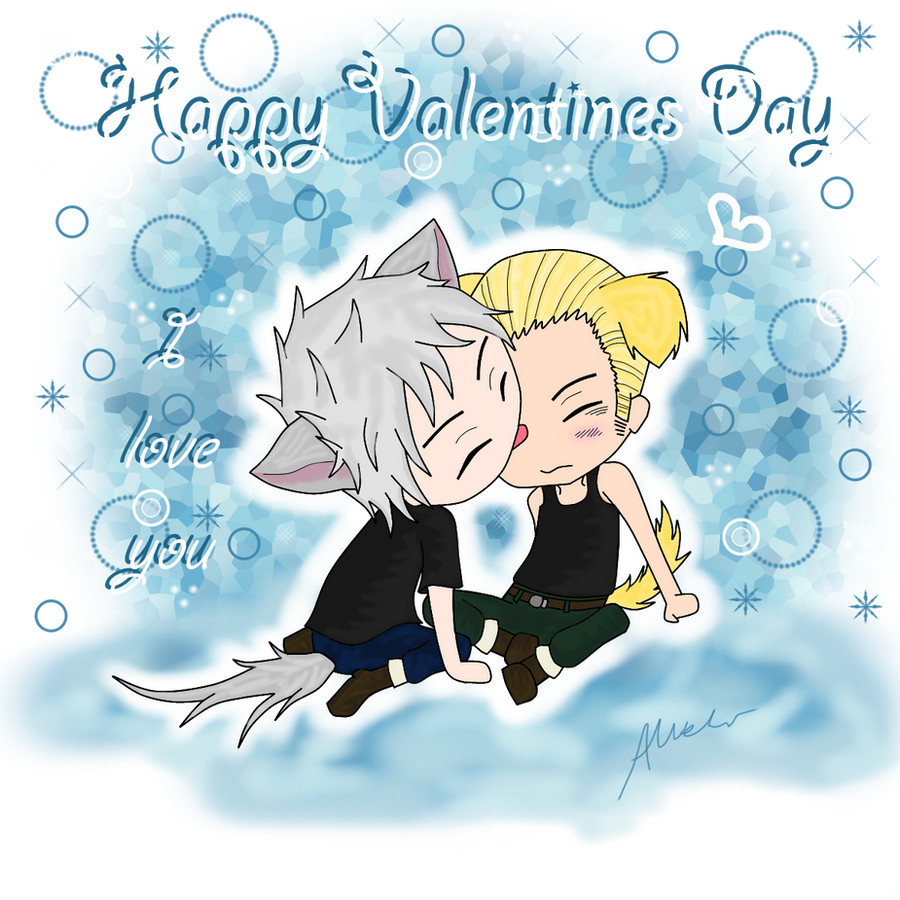 Valentines Day - Gilbo X Lutz by anineko