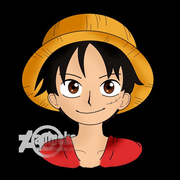 OP Monkey D. Luffy - bust by anineko