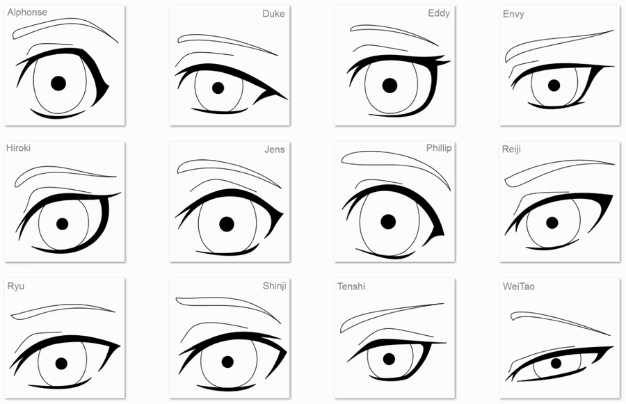 Line Art Eyes : Oc eyes lineart by anineko on deviantart