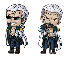 Vice Admiral Smoker Chibis (commission)