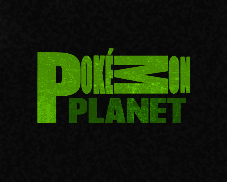 Pokemon Planet Logo by TheMoonMonkey