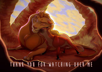 Thank you for watching over me by LunaMach