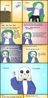 Undertale Frisk's ''puns'' by The-Great-Pipmax