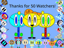 Thanks for 50 Watchers