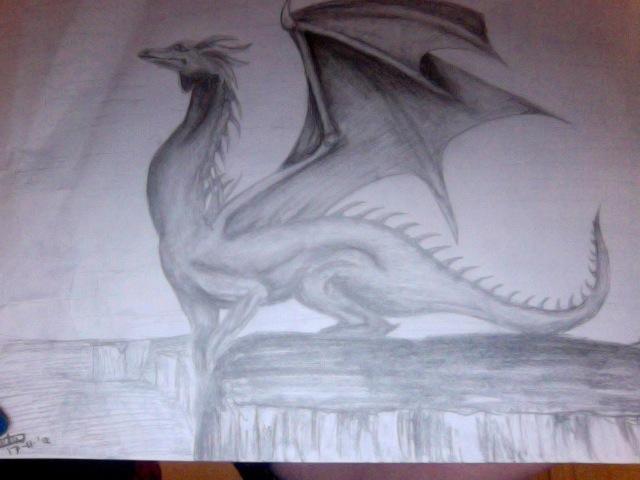 Dragon by WhingedDreamingRose