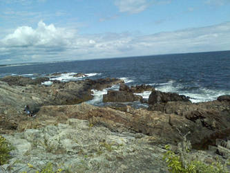The Coast of Southern Maine