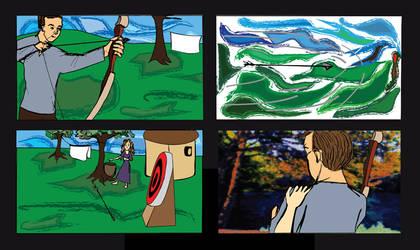 Robin Hood Storyboard 1
