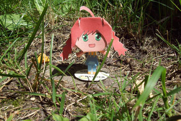 papercraft Lotje (Bagger) by moonwaterlight