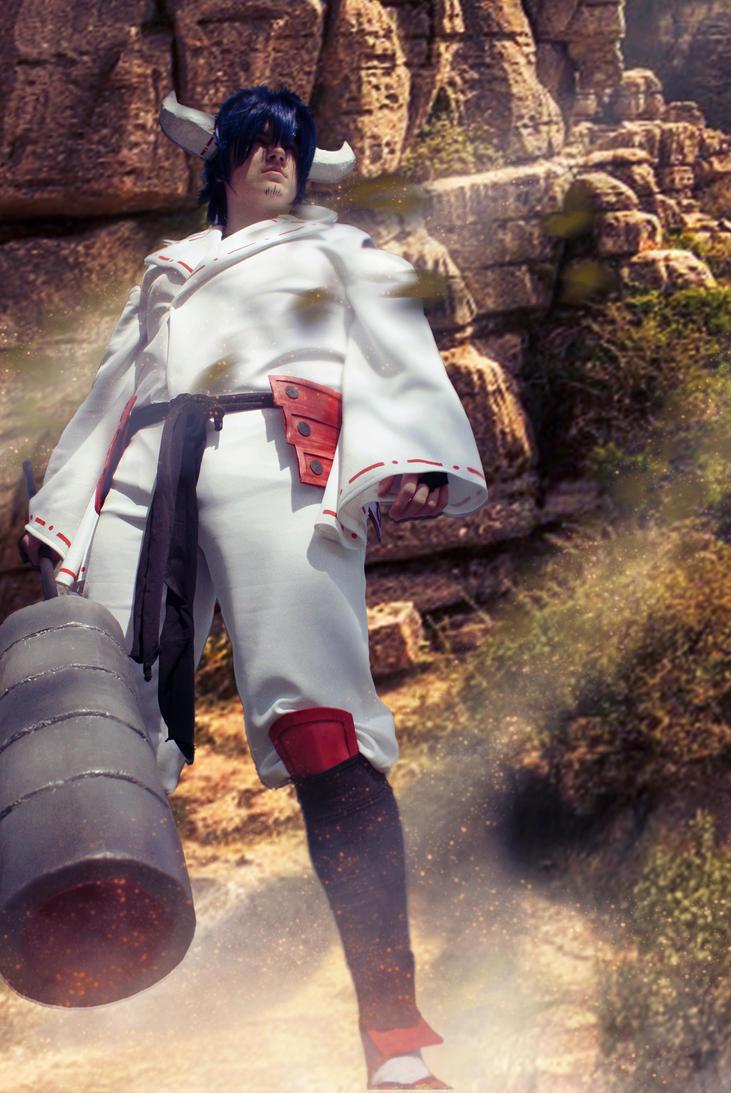 Susanoo cosplay by IchiNaruRyu