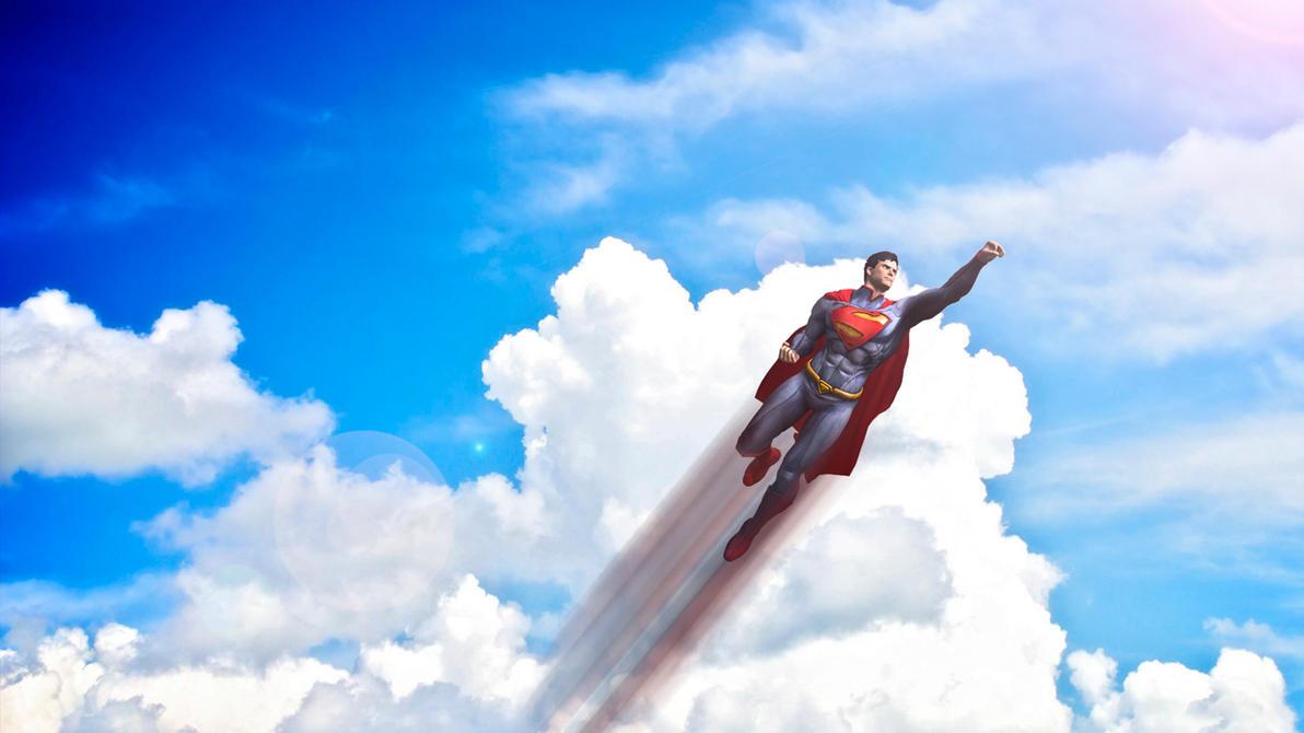 Superman flying new 52 by hdogwugb on deviantart superman flying new 52 by hdogwugb publicscrutiny Gallery
