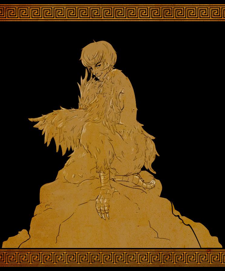 MGC Day 1: Harpy (v.2) by kumokyandi