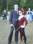 Harley Quinn and Joker Cosplay