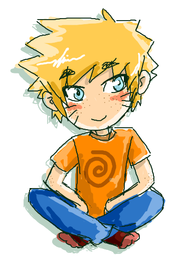 N: naruto doodle by dark--romance
