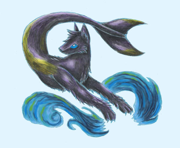 dolphin wolf by InkWaffles on DeviantArt - photo#15