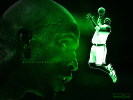 Mean Green - Kevin Garnett by SnapHook
