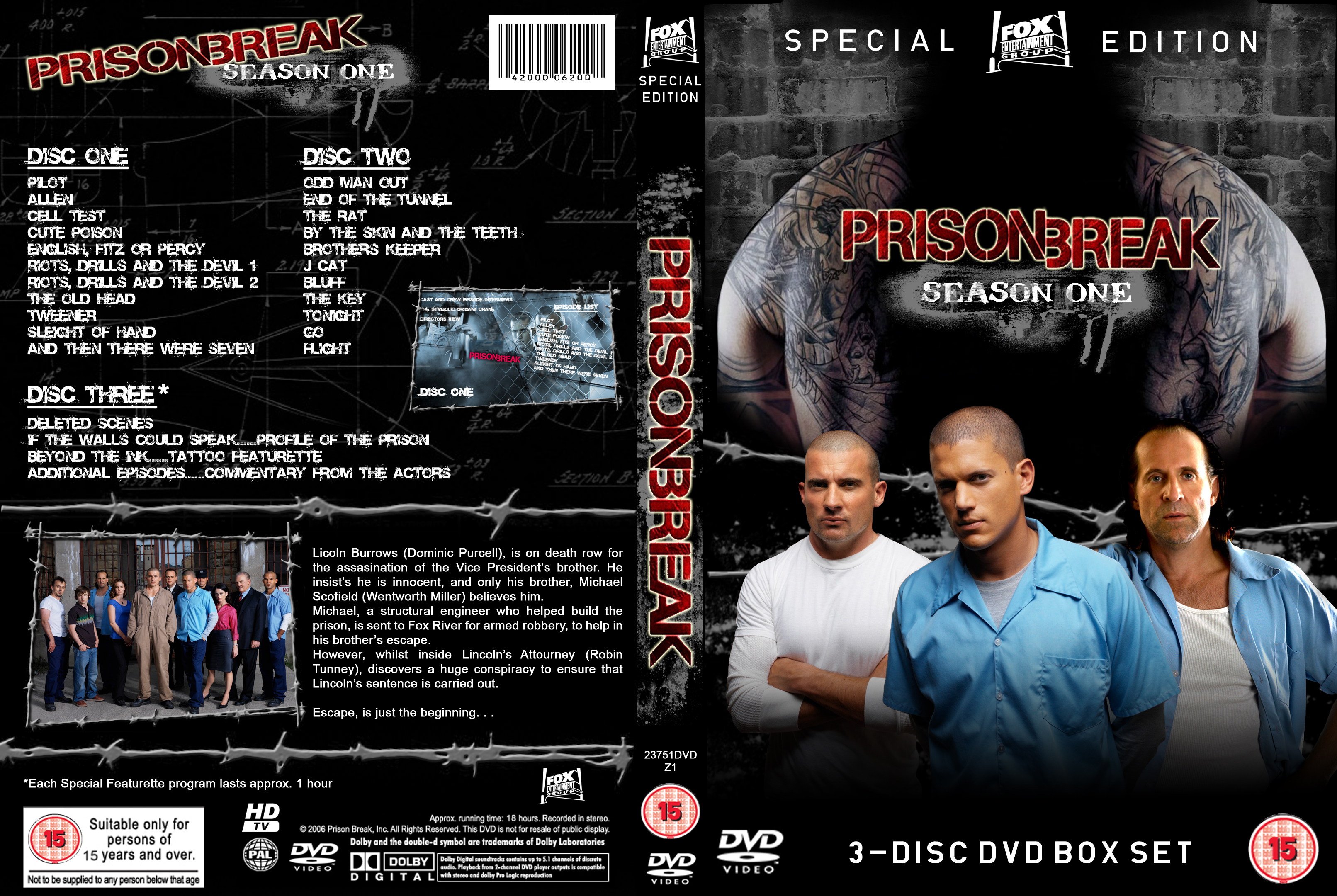 Prison Break Dvd Cover By Adampalmer On Deviantart