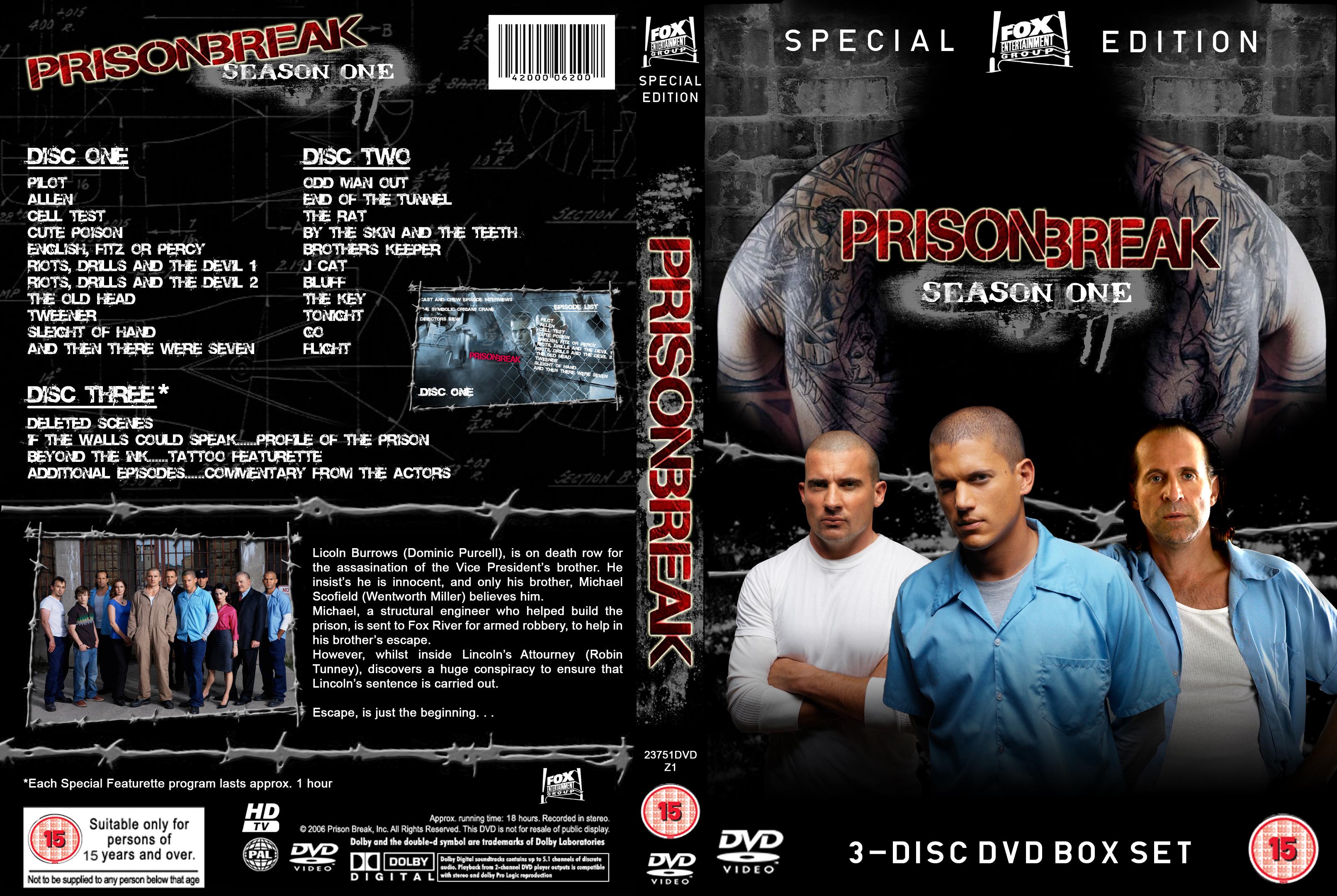 Prison Break Dvd Cover By Adampalmer On Deviantart