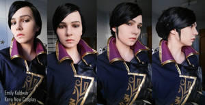 Dishonored 2 Emily Kaldwin Cosplay - Make-up test
